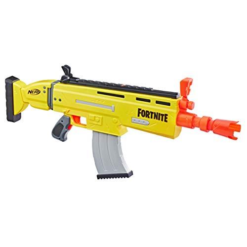 Hasbro Nerf Fortnite - AR-L (blaster SCAR ufficiale con 20 dardi Nerf Fortnite) per bambini da 8 anni in su