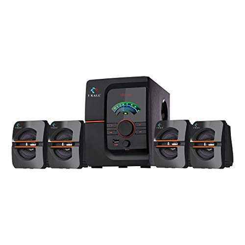 IKALL IK-401 60W Bluetooth Home Theatre System with FM/AUX/USB Support and Remote Control (Black, 4.1 Channel)