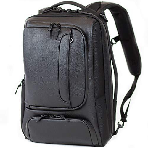 BROSKI 防水 本革 メンズ ビジネス リュック Apple Macbook Air 3way バックパック 大容量 出張 旅行 にも便利。多機能 おしゃれ pcバック Labor mini ブロスキーアンドサプライ BBOM-917