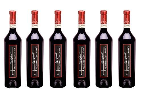 - 6 BOTTIGLIE - Montefalco Rosso Duca Odoardo 2014 DOC - 750ml x 6