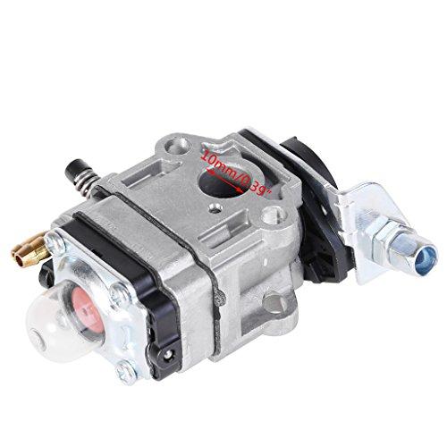 siwetg Carburatore da 10 mm con Guarnizione per Echo SRM 260S 261S 261SB PPT PAS 260 261 BC4401DW...