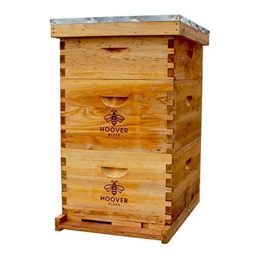 Complete Langstroth Wax Coated Beehive