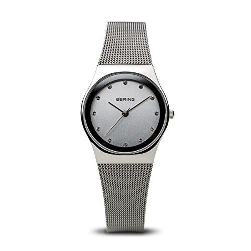 BERING Damen-Armbanduhr Analog Quarz Edelstahl 12927-000