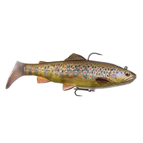 SG 4D Rattle Trout 20,5 cm 120 g Dark Brown Trout