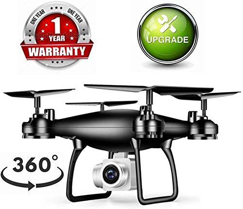 ZGYQGOO Drone HD Live Video Telecamera WiFi 2.4 GHz, giroscopio GPS 4 Assi, Presa altitudine RC, modalit Senza Testa a Lungo Raggio, quadricottero FPV, Elicottero 30 Minuti di Volo a Lungo Raggio