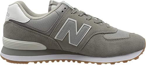 New Balance Herren 574v2 Sneaker, Grau (Grey Spu), 43 EU