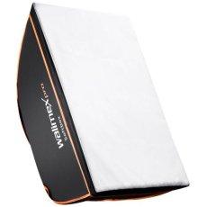 Walimex pro Softbox Orange Line 75x150 - Accesorio para cámara (2.16 kg, 420 mm, 750 mm, Negro, Color blanco)