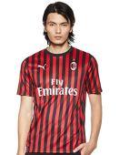 Puma AC Milan Home Replica Stagione 2019/20, Maglia Calcio Uomo, Tango Red/Black, M