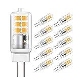 Jpodream Ampoule LED G4, 2W 12 x 2835 SMD Ampoules OLED, Économie...