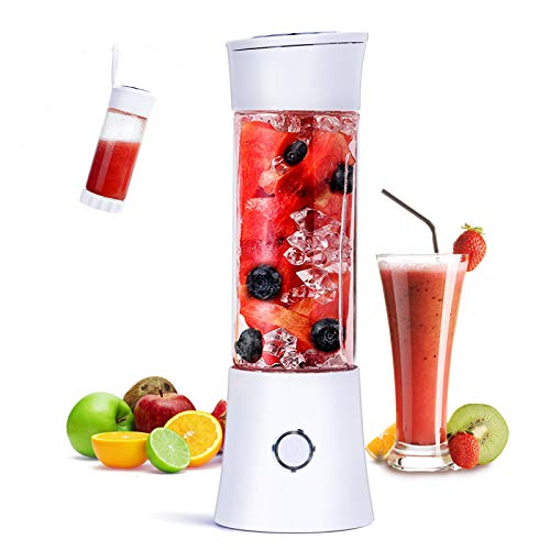 Mini Blender des Smoothies, Fityou Mixeur Blender Portable USB, 6 Lames...