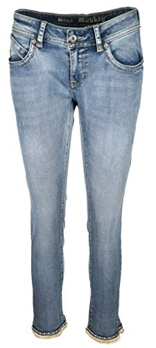 Blue Monkey Damen Verzierte Skinny Jeans Laura Größe 3232 Blau...