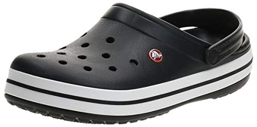 Crocs Crocband U, Zuecos Unisex Adulto, Negro (Black), 37-38 EU