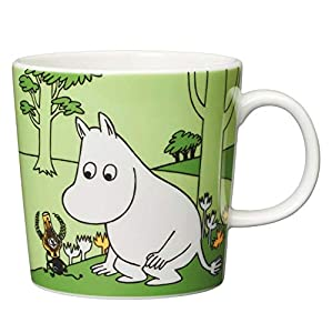 COLLECTIBLE CHARACTERS - A beloved character for both children and adults, Arabia's line of Moomin mugs have become immensely popular collectibles. NEW DESIGN - This great Moomintroll mug from Arabia is decorated with a drawing of Moomintroll, the pr...