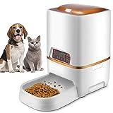 Sailnovo Futterautomat, Automatischer Futterspender für Katze und Hund, Pet...