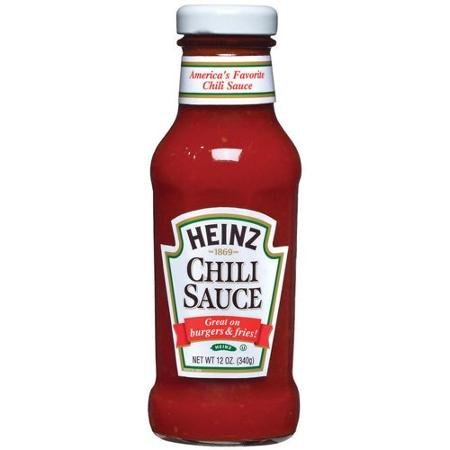 Heinz Chili Sauce,12oz, (pack of 2)