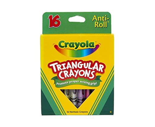 Crayola Triangular Crayons, Toddler Crayons, Coloring Gift...