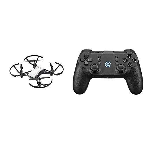 DJI Ryze Tello Mini drone ideale per Creare Video con EZ Shots, Compatibile con Lenti VR e Controller & Tello GameSir I Radiocomando Per Drone Tello I Compatibile