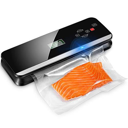 Macchina Sottovuoto per Alimenti, Kealive Touch Screen LCD, 4 in 1 Sigillatore Automatico...