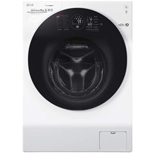 LG FH4G1JCS2 lavatrice Libera installazione Caricamento frontale Bianco 10 kg 1400 Giri/min A+++-40%