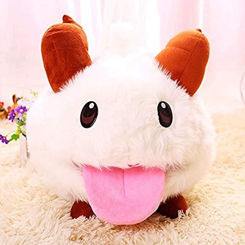 LYH2019 Poro Plüschtier Poro Plüschpuppe super süß weich und flauschig Spielcharakter Spielzeug...