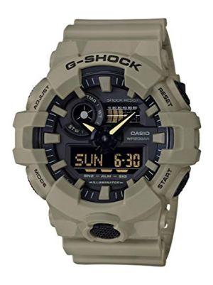 Casio Men's G-Shock XL Series quartz Watch Resistant Strap, beige, 25.8 (Model: GA-700UC-5ACR)