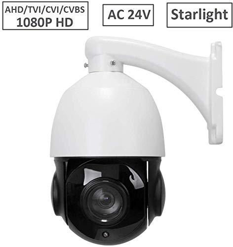 LEFTEK 4 in 1 HD-CVI HC-TVI AHD CVBS CCTV Esterna Dome Telecamera PTZ 20X Zoom 60M IR RS485 Controllo AC24V
