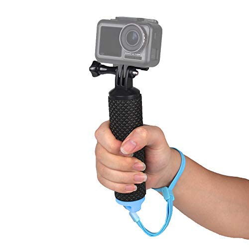 O'woda Impugnatura Galleggiante per Immersione Impermeabile Antiscivolo e Ottima Presa Action Camera Accessorio per Gopro Hero 8 7 6 5/Yi/Action/SJCAM/AKASO/OSMO ACTION