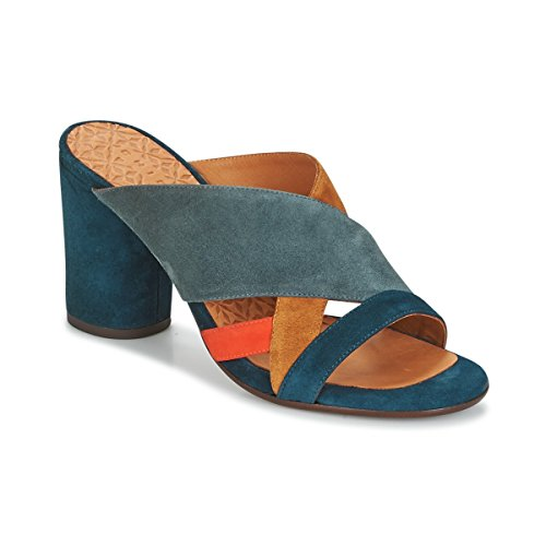 Chie Mihara Unil Zuecos Mujeres Azul - 36 - Zuecos (Mules) Shoes