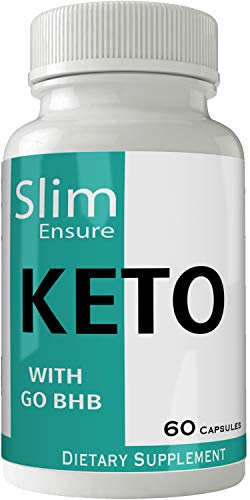 Slim Ensure Keto Diet Pills Advanced Energy Ketones with Go BHB Capsules Ketones Ketogenic Supplement for Weight Loss Pills 60 Capsules 800 MG GO BHB Salts to Help Your Body Enter Ketosis More Quickly 1