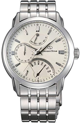Orient Herren Analog Automatik Uhr mit Edelstahl Armband SDE00002W0