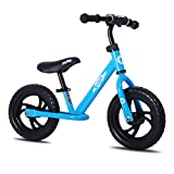 JOYSTAR 14 Inch Balance Bike for Boys Girls 3T to 6 Years Old Toddler Push Bike with Footboard and...