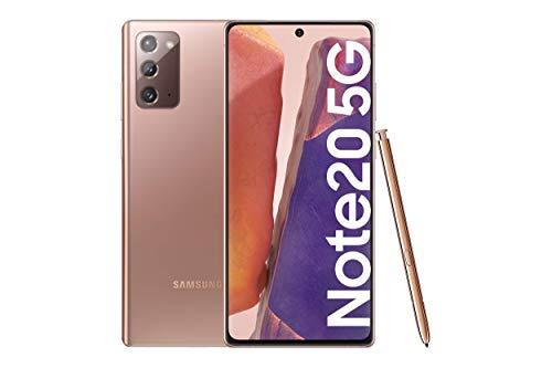 """Samsung Galaxy Note20 5G Smartphone Android Libre de 6.7"""" 256GB Mystic Bronze [Versión española]"""