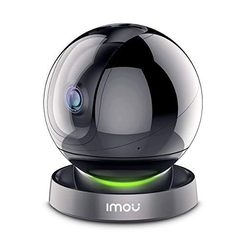 Videocamera di sicurezza Imou 1080P, Telecamera Dome con movimento tracciamento intelligente, videocamera di sorveglianza con rilevamento presenza mediante AI, Compatibile con Alexa/Google Assistant