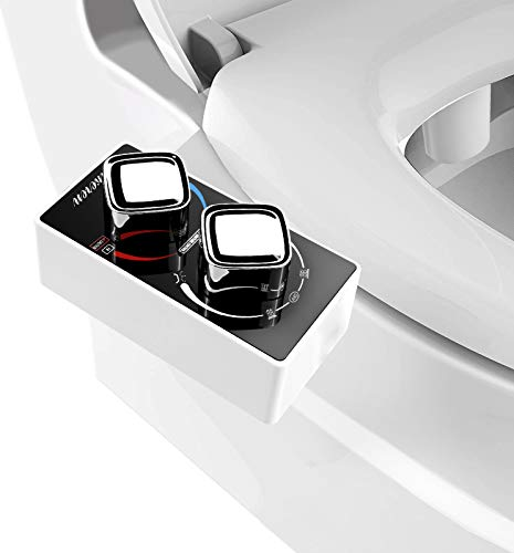 Hikeren Bidet-Toilet Seat Attachment-Hot and Cold Water - Non Electric...