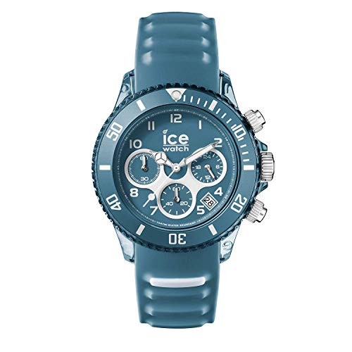 Ice-Watch - ICE aqua Bluestone - Men's wristwatch with silicon strap - Chrono - 001462 (Medium)