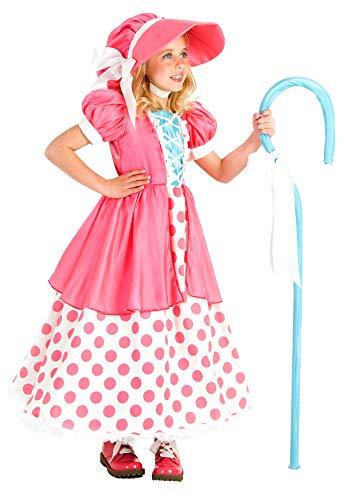 Princess Paradise Polka Dot Bo Peep Costume, Multicolor, Small/6