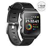 DR.VIVA GPS Watch for Men Women, Activity Tracker GPS Running Watch Touch Screen Smart Watch Heart Rate/Sleep/Step/Counter Monitor Sports Watch with 17...