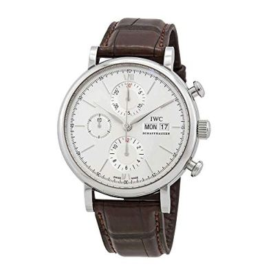 IWC Portofino Chronograph Edition 150 Years Automatic White Dial Men's Watch IW391027