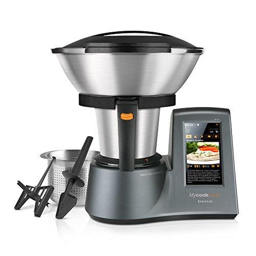 Taurus Mycook Touch Robot de Cocina, 1600 W, 2 litros, 0 Decibelios, Plástico|Acero...