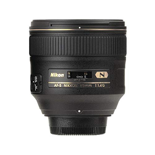 Nikon AF-S FX NIKKOR 85mm f/1.4G Lens with Auto Focus for Nikon...