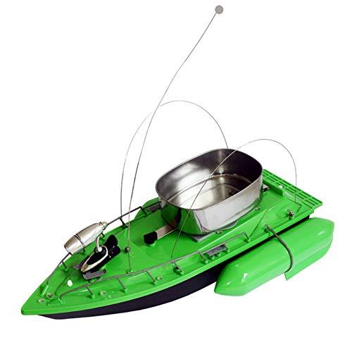 WXLSQ La Pesca e la Barca di nidificazione, Nave Esca Batteria, Cruise Telecomando Pesca Intelligente Esca Nave Wireless a 500 Metri in ABS Anti-Caduta, Forniture di Pesca,Verde