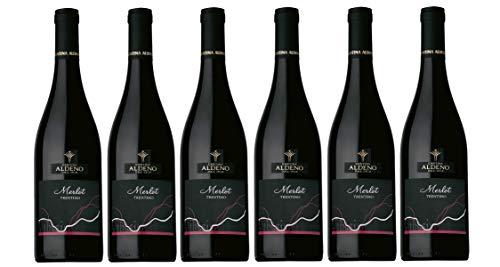 Confezione 6 bottiglie Merlot | Vino Rosso Trentino DOC | Cantina Aldeno - Athesim Flumen