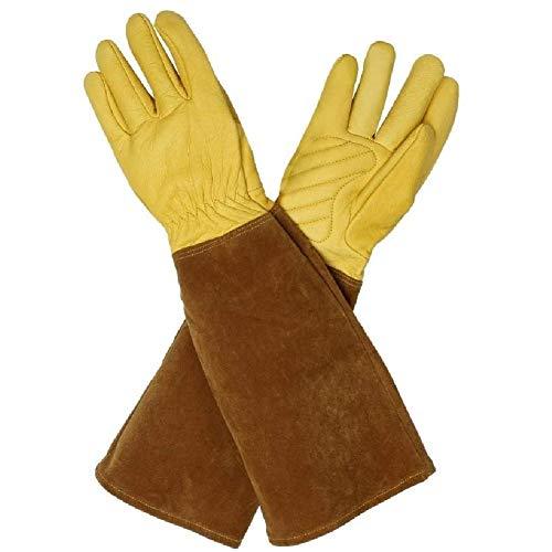 Guanti protettivi professionali a maniche lunghe, in pelle di alta qualit, anti-penetrazione, adatti...