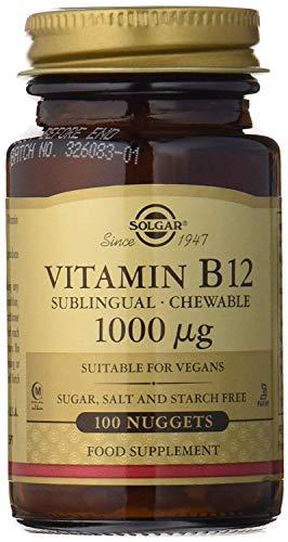 Solgar Vitamina B12, Comprimidos Masticables, Reduce el Cansancio,...