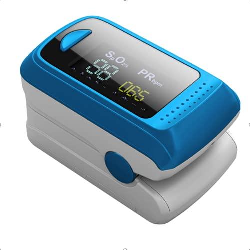 Monitor de saturación de oxígeno,pulsioxímetro de frecuencia...