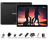 MEBERRY Tablet 10 Pulgadas Android 9 Pie Ultrar-Rápido Tablets 4GB RAM + 64GB ROM - Certificación Google gsm - Dual SIM - 8000mAh  WI-FI Bluetooth GPS  Type-C Tablet (5.0+8.0 MP Cámara) - Negro