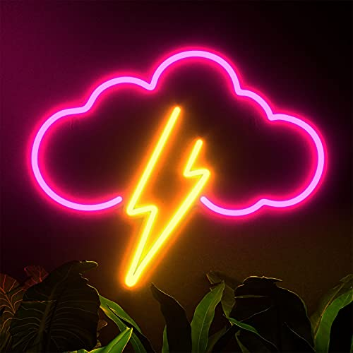 Koicaxy Neon Sign, Acrylic LED Neon Light, Neon Light for Wall Decor, Battery Operated or USB, Acrylic Neon Light for Bedroom Kids Room Bar Party Christmas