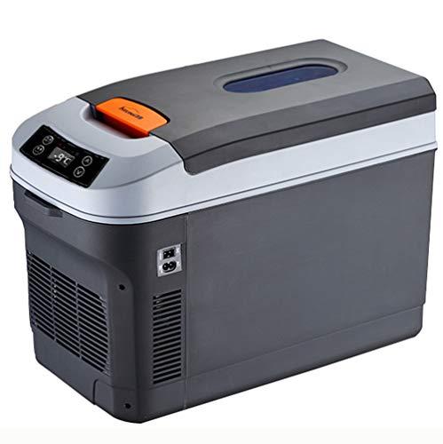35 Litri di Grande capacitFrigorifero per Auto Portatile, Mini Frigo Portatile Termoelettrico 12 V / 24 V / 220 V Camion Frigorifero Congelatore Cibo Congelatore (Nero)