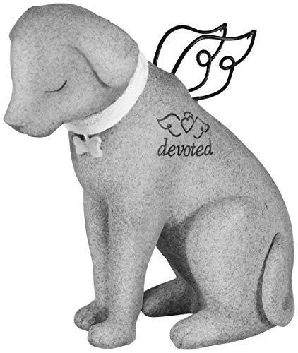 Carson Bereavement Faithful Angel Memory Memorial Dog Figurine Statue Pet Lost Sympathy Gift