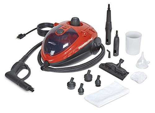 6. AutoRight SteamMachine C900054.M Red Multi-Purpose Steam Cleaner
